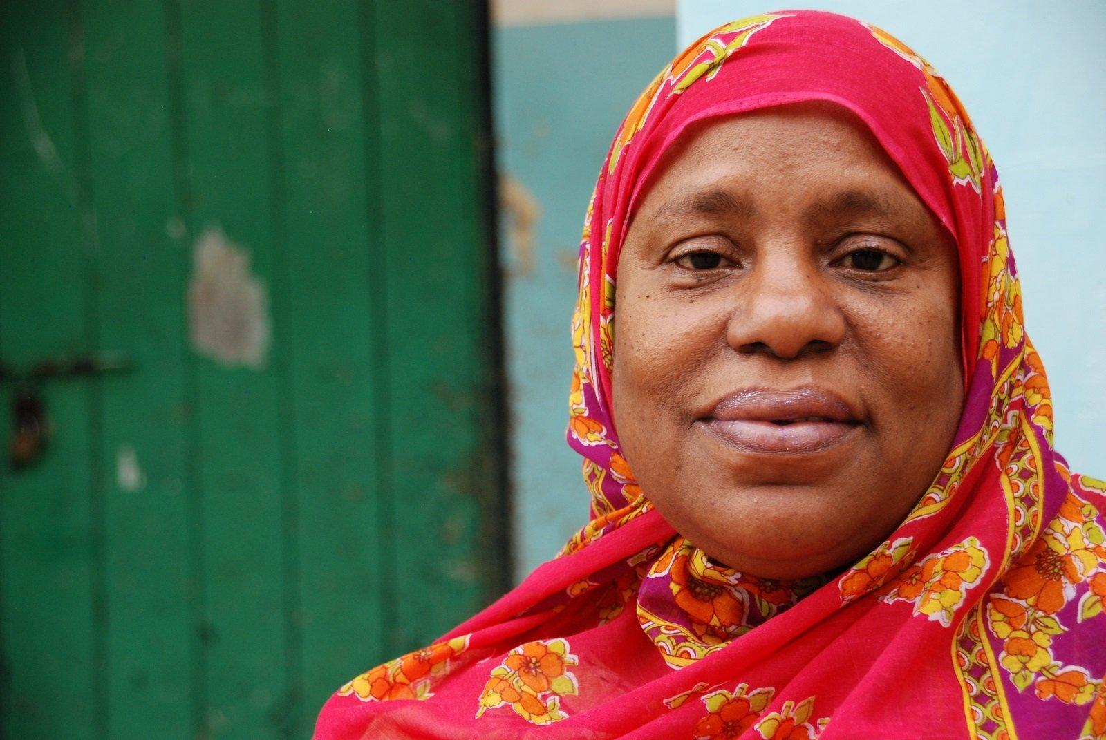 Asma Jabir, Head Teacher at Bondeni Primary School, Mombasa