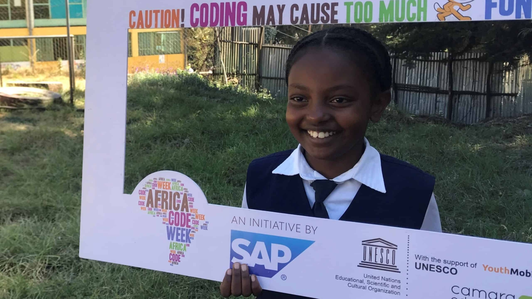 Soliyana, Africa Code Week winner